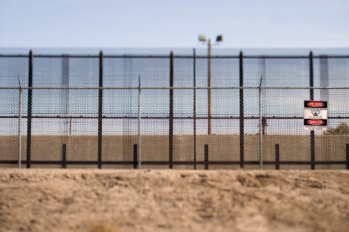 Frontera  El Paso- Texas. Foto: Terry Vine/J Patrick Lane/Getty Images