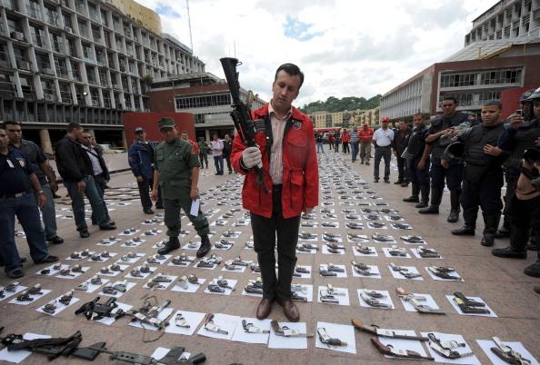 Vicepresidente de Venezuela, Tareck El Aissami. Foto: JUAN BARRETO/AFP/GettyImages
