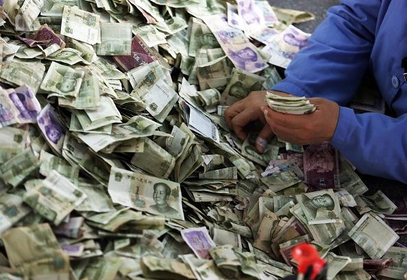 Yuan, la moneda de China continental. (Foto: VCG/VCG via Getty Images)