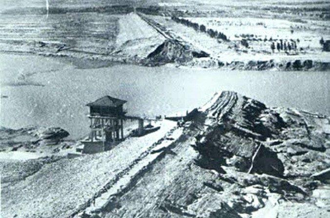 Represa de Banqiao, China. (Dominio público)