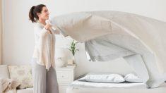 ¿Con qué frecuencia debemos lavar las sábanas?