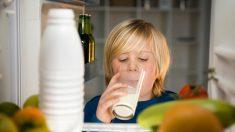 Razones por las que no deberías guardar la leche en la puerta del refrigerador
