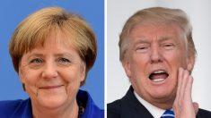 Merkel y Trump se reúnen en la Casa Blanca