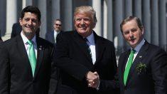 Trump celebró el Día de San Patricio con el primer ministro de Irlanda