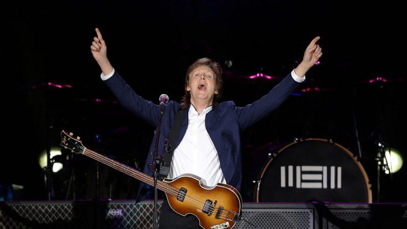 Paul McCartney confirma que prepara nuevo disco (foto Chung Sung-Jun/Getty Images)