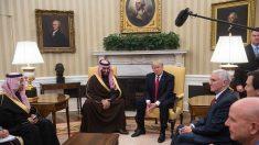 Donald Trump se reúne con príncipe saudita en la Casa Blanca