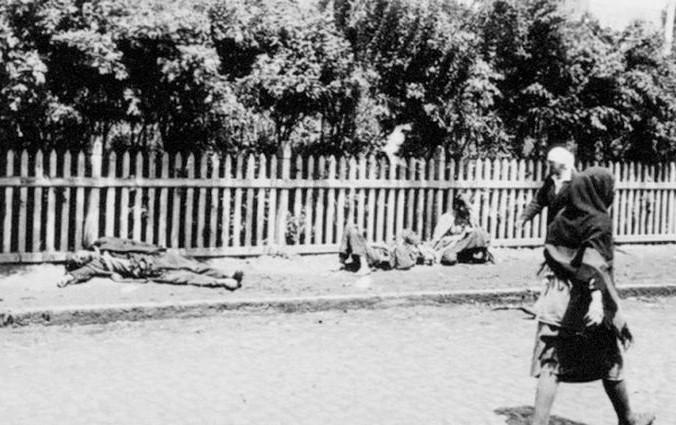 Foto tomada durante el Holodomor de Ucrania. (Dominio Público)