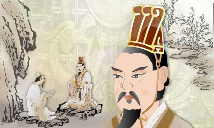 """""""El rey honra la credibilidad, los funcionarios prometen su lealtad y el estado tiene el amor de su gente; estos son los tesoros del estado de Wei"""". (CatherineChang/La Gran Época)"""