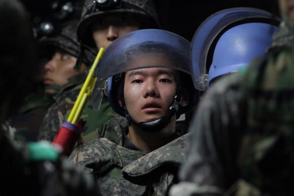 Corea del Sur y EEUU realizarán ejercicios militares conjuntos. (Foto: Chung Sung-Jun/Getty Images)