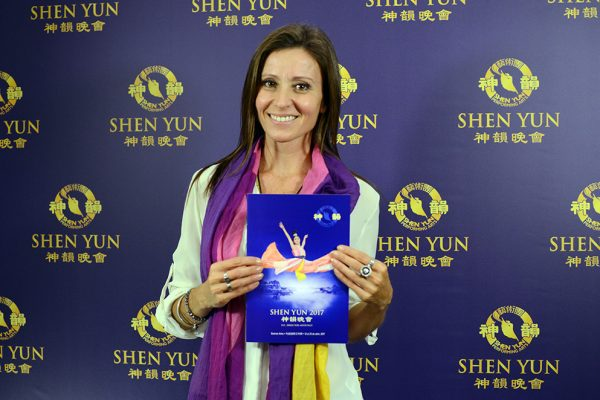 Artistas argentinas, conmovidas con la perfección de Shen Yun