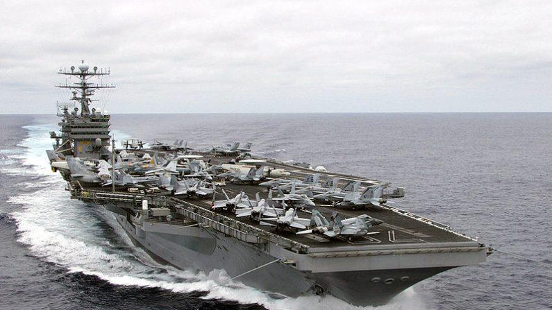 Portaviones USS Carl Vinson (Wikimedia Commons).