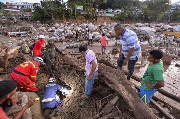 La situación es es muy delicada y sin precedentes. La ciudad no tiene luz ni agua. (Foto: LUIS ROBAYO/AFP/Getty Images)