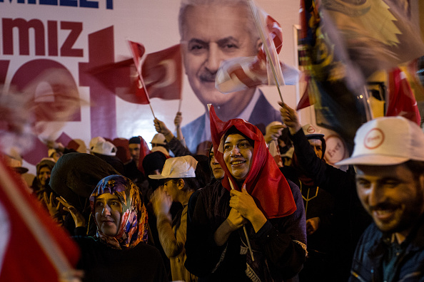 Erdogan, de 63 años, llegó al poder en 2003 como primer ministro, cargo que ocupó hasta 2014, cuando se convirtió en el primer presidente turco elegido de forma directa. (Foto: Chris McGrath / Getty Images)