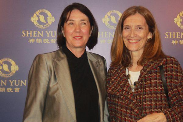 Embajadora de Serbia en Argentina, fascinada con el colorido de Shen Yun
