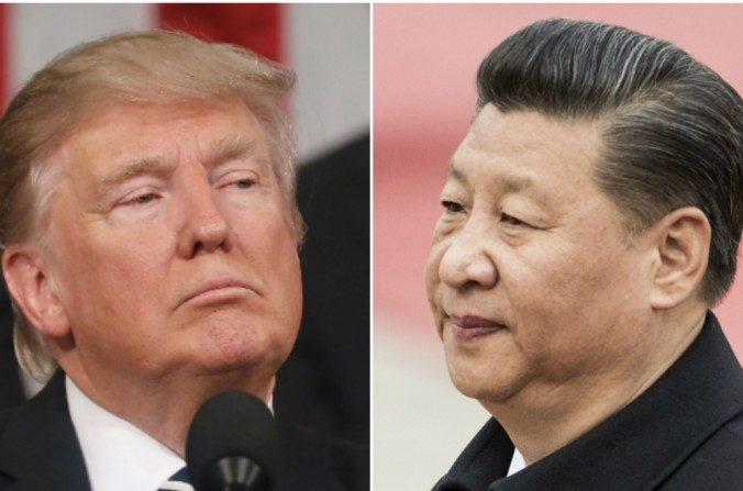 Donald Trump y Xi Jinping. ( Andrea Morales/Getty Images; FRED DUFOUR/AFP/Getty Images)