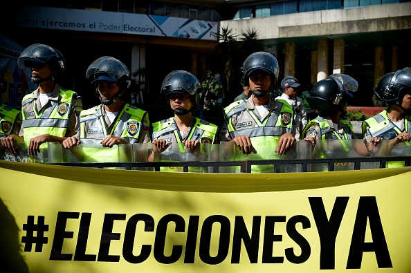 Foto: FEDERICO PARRA/AFP/Getty Images.