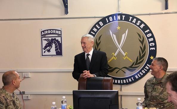 Secretario del Pentágono, Jim Mattis. Foto:  THOMAS WATKINS/AFP/Getty Images.