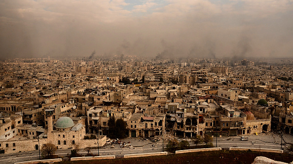 Conflicto en Siria. Foto: OURFALIAN/AFP/Getty Images