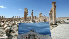 La difícil tarea de reconstruir el monumental Arco de Triunfo de Palmira destruido por ISIS