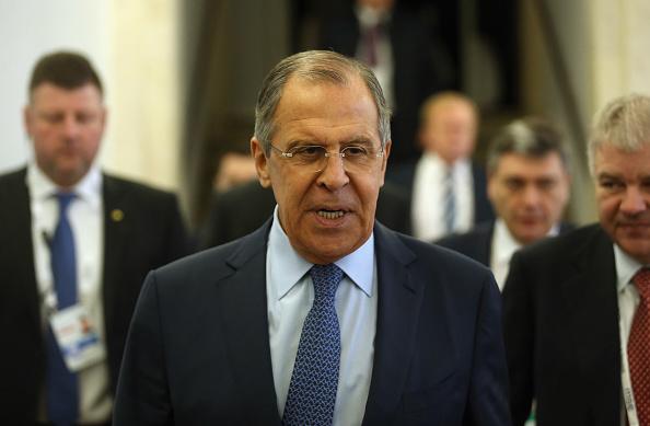 El ministro de Relaciones Exteriores de Rusia, Sergei Lavrov. (Foto: Johannes Simon/Getty Images)
