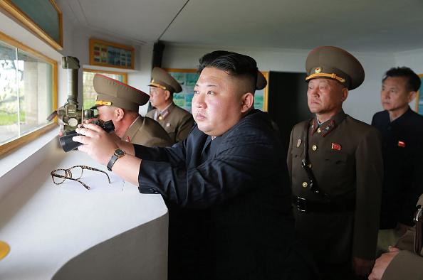 Kim Jong-un, líder norcoreano. (Foto: STR/AFP/Getty Images)
