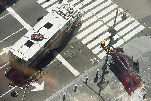 Richard Rojas, el hombre que arrolló a varias personas en Times Square, es acusado de asesinato