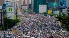 """La oposición venezolana saldrá hoy con la promesa de dar su """"mayor demostración de fuerza"""""""