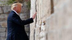 Trump inició su visita oficial a Israel con la expectativa de revivir paz