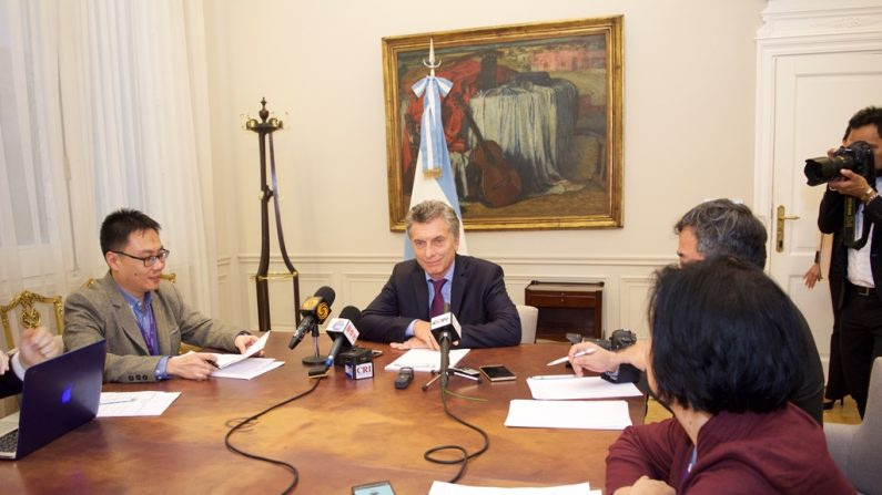 """Macri quiere """"reprogramar"""" la relación de Argentina con China"""