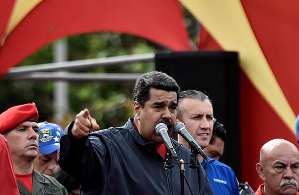 Nicolás Maduro, Caracas Venezuela, 1 de abril 2017. (Foto: CARLOS BECERRA/AFP/Getty Images)