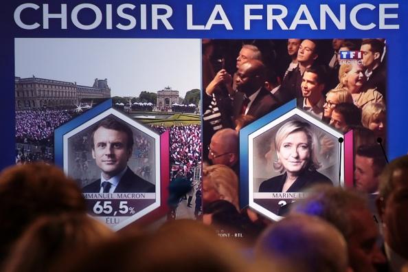 Macron, un independiente y ex ministro de Economía, se convierte así en el jefe de Estado más joven de Francia, con 39 años. (Foto: JOEL SAGET/AFP/Getty Images)