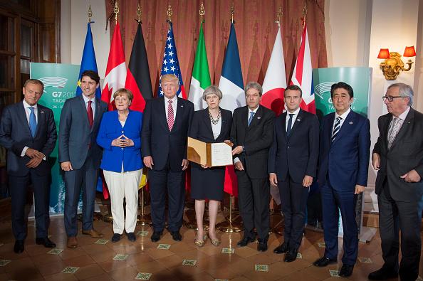 Los líderes del G7 firmaron una declaración conjunta en la que piden apoyo en la lucha contra el terrorismo a las compañías de internet y redes sociales. (Foto: Guido Bergmann/Bundesregierung via Getty Images)