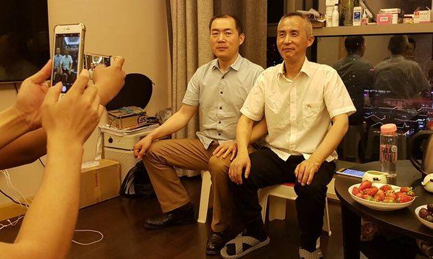 Abogado chino de derechos humanos sale de prisión envejecido y demacrado