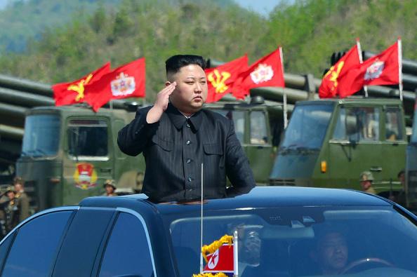 Kim Jong-un, líder norcoreano. Foto: STR/AFP/Getty Images.