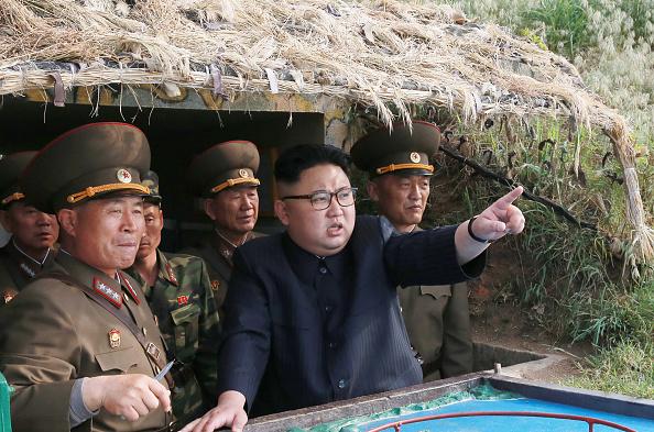 Kim Jong-un, líder de Corea del Norte. Foto: STR/AFP/Getty Images