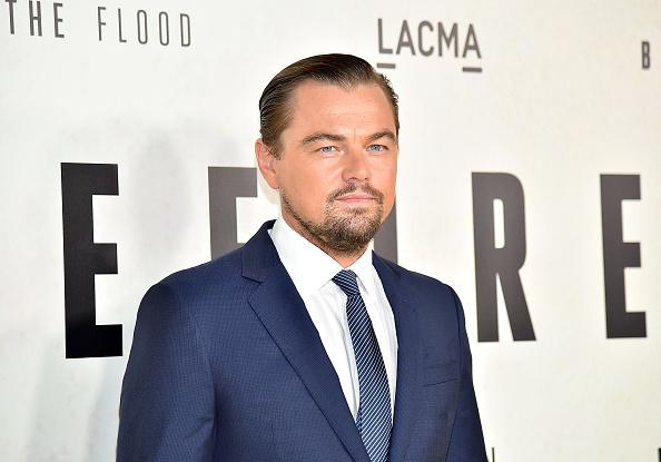 Leonardo DiCaprio, actor y activista estadounidense. Foto: Mike Windle/Getty Images.
