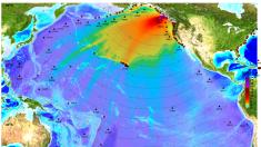 Cómo detectar tsunamis con perturbaciones de la atmósfera