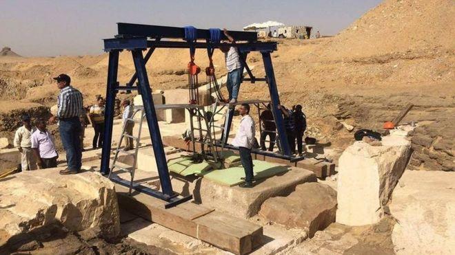 Este nuevo hallazgo viene a sumar una pieza más del rompecabezas de Egipto, que los investigadores están tratando de recrear. Foto: Ministerio de antigüedades Egipto.