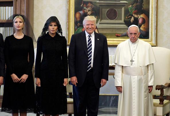 Foto tomada en el Vaticano el 23 de mayo de 2017. (EVAN VUCCI/AFP/Getty Images).