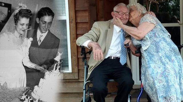 ¡Celebran su 70 aniversario de bodas como si fuera el primer día!