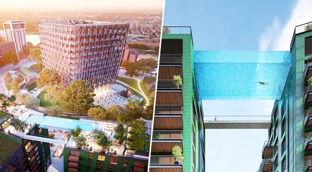 ¿Te gustaría nadar en 'la piscina del cielo'?