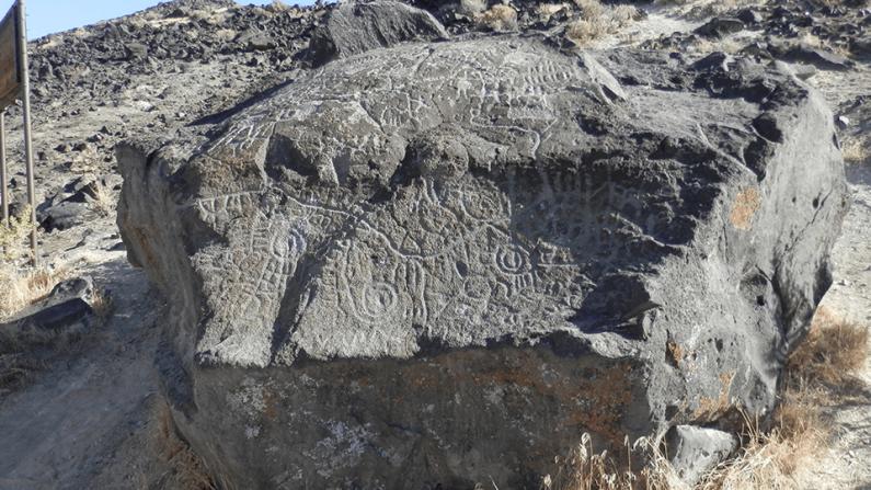 Sorprendente mapa prehistórico tallado en una roca