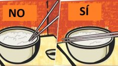Las 9 reglas que tienes que saber para usar palillos chinos