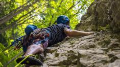Escalar rocas o paredes puede curar la depresión, revela estudio