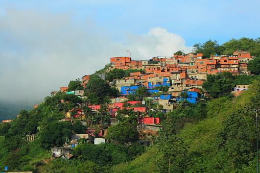 Favela en Caracas (Getty Images)