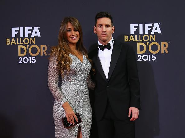 Lionel y Antonella se conocen desde muy jóvenes. Ambos son oriundos de la ciudad de Rosario, Argentina. Foto: Getty Images.