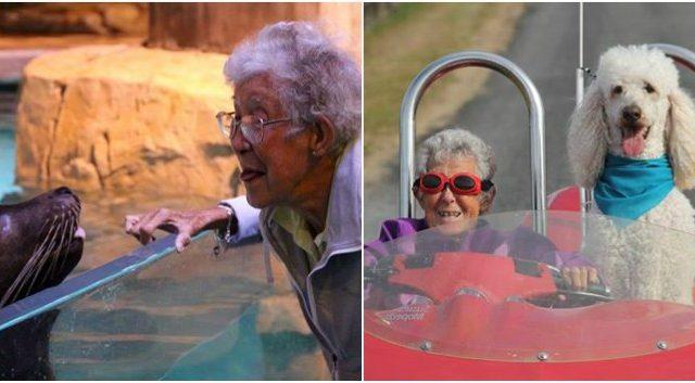 Mujer de 91 años rechaza quimioterapia para irse de viaje antes de morir