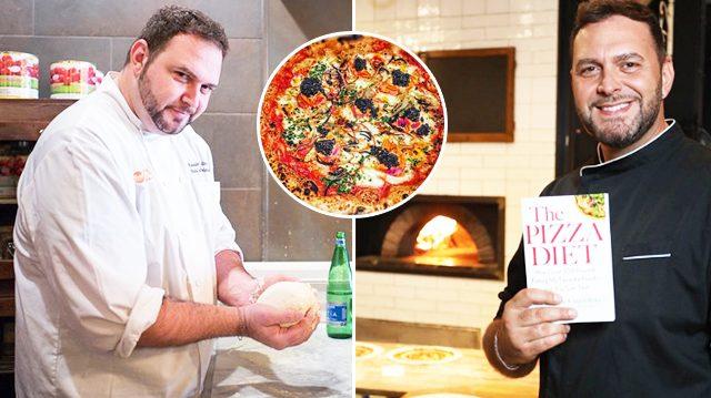 "Hizo la ""dieta de la pizza"" y perdió más de 40 kilos"