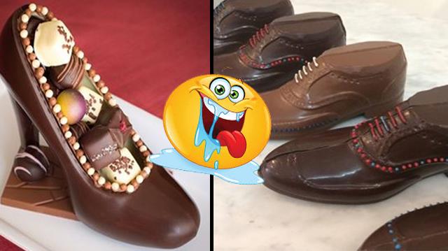 ¡Zapatos de chocolate! Mordiscos que te derretirán el corazón