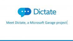 Redacta sin manos en Microsoft Office gracias a Dictate